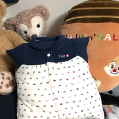 新生児用ベビー服リメイク ベビー服リメイク第3弾 クッションとペッ…(2枚目)