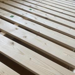ロフトベッド 先週久々の大物DIY ロフトベッドです。…