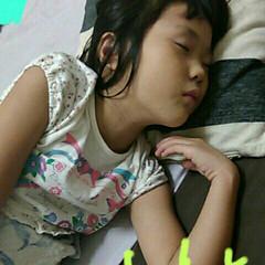 住まい 妹が寝てるところ(≧∇≦)