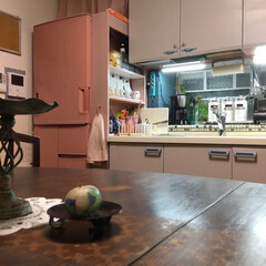 ターナー色彩 オールドウッドワックス アンティークグレー 350ml | ターナー(ワックス)を使ったクチコミ「我が家のキッチンはI型キッチンです。 な…」(2枚目)