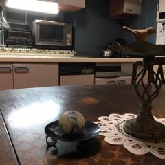 ターナー色彩 オールドウッドワックス アンティークグレー 350ml | ターナー(ワックス)を使ったクチコミ「我が家のキッチンはI型キッチンです。 な…」(5枚目)