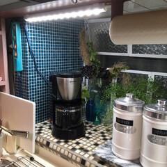ターナー色彩 オールドウッドワックス アンティークグレー 350ml | ターナー(ワックス)を使ったクチコミ「我が家のキッチンはI型キッチンです。 な…」(3枚目)