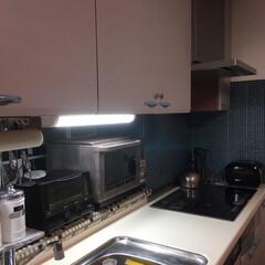 ターナー色彩 オールドウッドワックス アンティークグレー 350ml | ターナー(ワックス)を使ったクチコミ「我が家のキッチンはI型キッチンです。 な…」(4枚目)