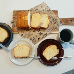 おやつの時間/おやつ作り/コーヒー/珈琲/クッキングシート/食器/... 普段はあまりおやつを食べない子供達も家で…
