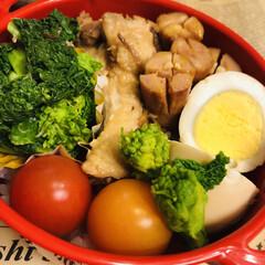 ミツカン 米酢 900ml 507237 1本 | ミツカン(米酢)を使ったクチコミ「今日のお弁当    鶏手羽元のさっぱり煮…」