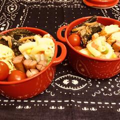 お弁当/料理/手作り/作り置き/わたしのごはん/ハンドメイド 今日のお弁当  いわしの生姜煮 卵焼き …