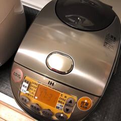 象印 IH炊飯器 極め炊き 黒まる厚釜 ブラウン 5.5合 NP-VJ10-TA   象印(その他キッチン、日用品、文具)を使ったクチコミ「炊飯器 買いました🍚  木曜日に 炊飯器…」