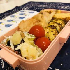 ズッキーニ/卵焼き/お豆/ミニトマト/鶏胸肉/LIMIAごはんクラブ/... 今日のお弁当   鶏胸肉のマヨ照り焼き …