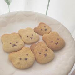 クッキー クッキー 作りました❣️ テスト中の次女…