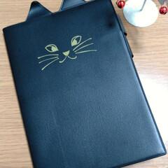 高見え/ねこ/手帳/雑貨 来年の手帳をげっと 猫耳かわいい〜 カバ…
