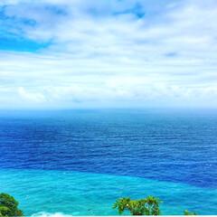 ブルー/海 うっとりする青さ🏝