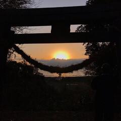 初日の出/お正月/あけおめ/冬/お気に入り 初日の出🌅