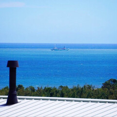 ここが好き 我が家から一望できる海✨ どの部屋からも…