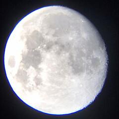 天体望遠鏡/月/ありがとう平成/令和カウントダウン/春/風景/... 天体望遠鏡で観測🔭(1枚目)