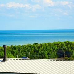 海/ブルー 我が家から見える景色🏝