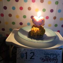 誕生日 今年も誕生日を祝う事が出来ました😄12歳…(2枚目)