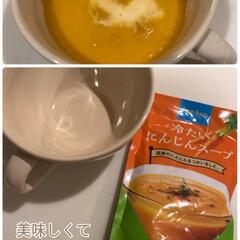 ココナッツ風味/苦手/カレー/なめらか/牛乳プラス/おススメ/... KALDIのスープ☆  冷たいにんじんス…