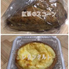 パンも買う/先に食べる/レモンタルト/紅茶のスコーン/お菓子/購入/... どっち⁈☆  伊勢丹のパン屋さんで購入し…