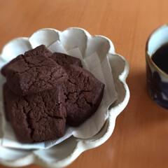 ホットケーキミックス/レシピ/簡単/チョコたっぷり/コーヒー/3時のおやつ/... チョコたっぷりスコーン☆  前回チョコ感…