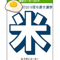 お遊び/漢字メーカー/書き初めメーカー/2019/脳内メーカー/うそこメーカー 霧の中悲しい夢をみて休む… そして米を食…(3枚目)