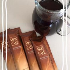 モンカフェ/お買い物♪/雑貨屋さん/地元/飲むことに/まとめて/... アイスコーヒー☆  賞味期限切れのドリッ…