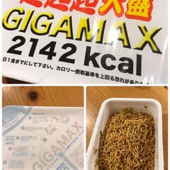 2142kcal/GIGAMAX/食べきれるか不安/美味しい/大盛/超超超/... ついに食べてみました☆  食べきれるかど…