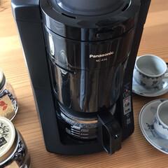 豆から挽ける/Panasonic/コーヒーメーカー/キッチン 豆から挽けるPanasonicコーヒーメ…