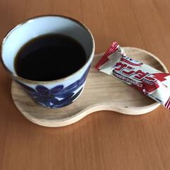 15時/チョコ/ひょうたん/受け皿/そば猪口/コーヒー/... 15時のそば猪口コーヒー☆  日曜のひと…(1枚目)