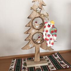 クラフトホリック/ツリー/雑貨/クリスマス 友だちからもらったクリスマスツリー☆  …