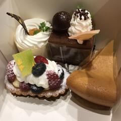 うれしい/痩せない/我慢/久々/ケーキ 久々のケーキ☆  自分で作ったりしていて…(1枚目)