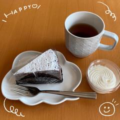 やっぱりハマっている/久しぶりにアイスコーヒー/お昼の後/久しぶりにお紅茶/10時のお茶/Happy Color/... お茶とHappy Color☆  10時…(1枚目)