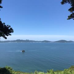島/福岡/海/空/能古島/旅行/... 空・海・島☆  福岡旅行 島からの景色♪…