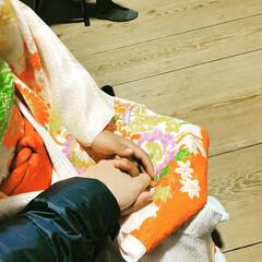 高原狭原神社⛩/七五三/姪 姪っこ。 何を祈っているのでしょう? お…(2枚目)