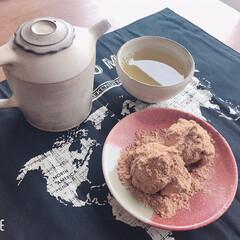 宮崎新茶/あくまき/宮崎/至福のひととき/おやつタイム/LIMIAスイーツ愛好会/... 宮崎新茶と、あくまき。