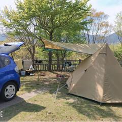 何もしない時間/夫婦キャンプ/キャンプ/ひなもりオートキャンプ場/小林/宮崎/... 十数年ぶりに、夫婦キャンプ。 昔は、 ち…