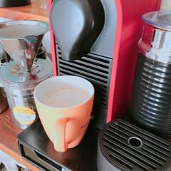 カフェオレ/コーヒー おはようございます。 カフェ・オ・レでス…