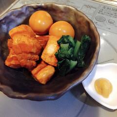 豚の角煮/LIMIAごはんクラブ/おうちごはんクラブ 豚の角煮、圧力鍋有難い。☺️