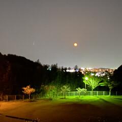 ピンクムーン 今夜は満月🌕 ピンクムーン。