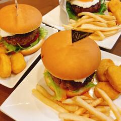てりたまバーガー/ハンバーガー/ハンバーグ/おうち時間/おうちごはん/夜ご飯 火曜日の夜ご飯は娘と一緒にてりたまバーガ…(10枚目)