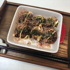 お昼ご飯/まったり/たこ/料理/手作り/ランチ/... こんにちは(*ˊᵕˋ*)੭ ੈ  今日の…