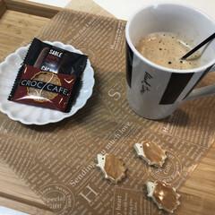 お茶/ティータイム/サブレ/ガレット/珈琲/コーヒー/... ᵍᵒᵒᵈ ᵐᵒʳᐢⁱᐢᵍ ⋆̩☂︎*̣̩…