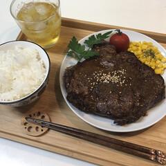 平成ありがとう/ランチ/お昼ご飯/ステーキ/平成最後のランチ/平成最後のお昼ご飯/...  こんにちは♬︎♡  平成最後のお昼ご飯…