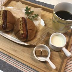 ホットドッグ/珈琲/コーヒー/雑貨だいすき/雑貨/雑貨だいすきコンテスト/... нёllо❁︎  今日も暖かくて小春日和…