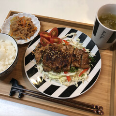 oisix/Kit Oisix/炊飯マグ/赤米/お昼ご飯/ランチ/... \ Hello ♡/  今日は曇ったり、…(1枚目)