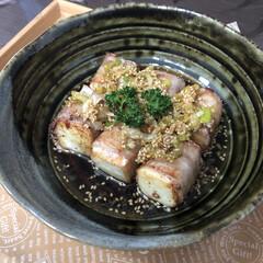 肉巻き/簡単レシピ/おうちごはん/お昼ご飯/香味タレ/油淋ソース/... ✧ᴴᴱᴸᴸᴼ✧  今日のお昼は、先日、T…