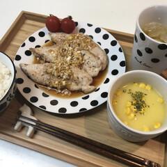 ささみ油淋鶏/油淋鶏/ササミ/ささみ/お昼ご飯/ランチ/... ᴴᴱᴸᴸᴼ︎❥❥❥»︎  今日のお昼ご飯…