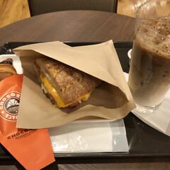 コーヒー/カフェ/ランチ/サンマルクカフェ/2018/フォロー大歓迎/... 今日はヴェルのトリミングなので待ち時間に…