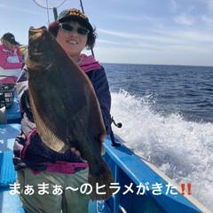 船釣り/趣味/釣りバカ/ヒラメ/海釣り/釣り 11月1日 茨城県ヒラメ解禁‼️  行っ…