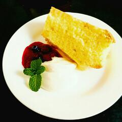 手作りお菓子 シフォンケーキ