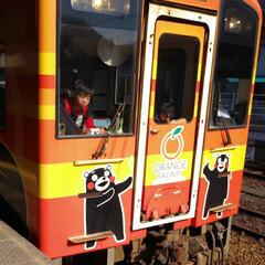 快晴/気分転換/電車/おでかけ/風景/旅行/... 普段、車ばかり 子供達が電車に乗りたいと…